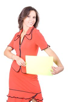 Free The Beautiful Businesswoman Royalty Free Stock Images - 8063949