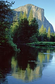 Free El Capitan Yosemite Royalty Free Stock Photos - 8063968