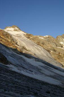 Free Mountain Glacier Royalty Free Stock Photography - 8063977