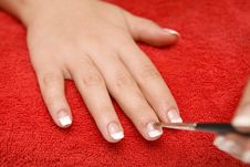 Free Nail Care Royalty Free Stock Image - 8064496