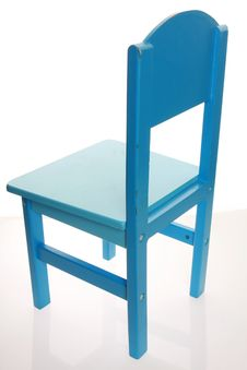 Blue Chair Royalty Free Stock Image