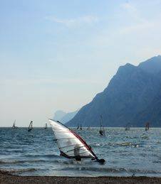 Free Windsurf In Italy Stock Photo - 8065470