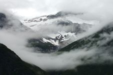 Free Clouds Over Mountains In Alaska Stock Images - 8065474