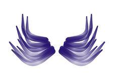 Free Dark Blue Wings Stock Photos - 8067243