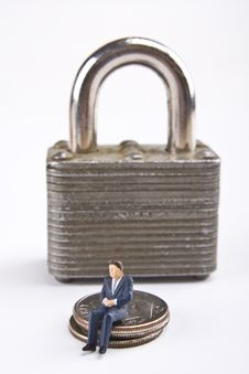 Free Safe Financial Security Stock Photo - 8068240