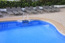 Fresh Looking Swimming Pool Royalty Free Stock Images