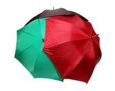 Free Red, Green And Black Umbrellas Royalty Free Stock Photos - 8069248