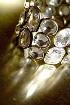 Free Diamond Bangle Stock Photography - 8069282