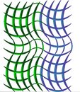Free Open Weave Green And Blue Background Stock Photo - 8071000
