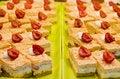 Free Cream Pastries Stock Image - 8074861