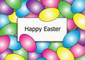 Free Happy Easter Egg Border Stock Photography - 8075332