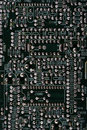 Free Microcircuit Board. Royalty Free Stock Image - 8075356