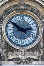 Free Paris - Orleans Clock Royalty Free Stock Photos - 8076408