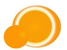Free Orange Royalty Free Stock Photography - 8070037