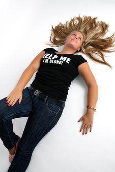 Free Blond  Girl Stock Photos - 8070183
