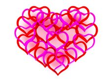 Free Beautiful Hearts Stock Photography - 8071222