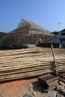 Free Bamboo Building Stock Photography - 8071562