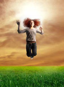 Free Jump Stock Photography - 8071792