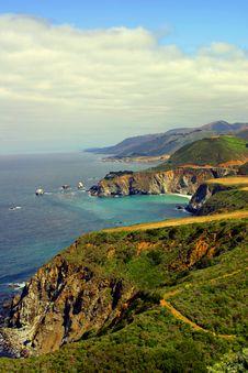Free California Coast Royalty Free Stock Images - 8071889