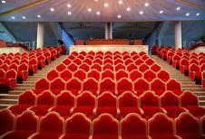 Empty Auditorium Stock Image