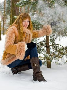 Free Winter Girl Stock Images - 8073564