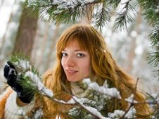 Free Winter Girl Stock Images - 8073584