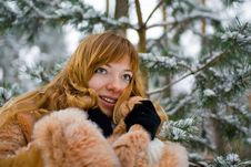 Free Winter Girl Royalty Free Stock Images - 8073619