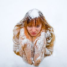 Free Winter Girl Stock Photo - 8073720