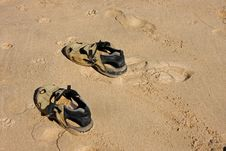Free Sandals Stock Photography - 8073852