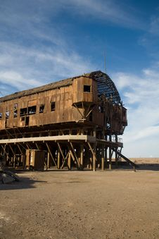 Abandoned City - Santa Laura And Humberstone Stock Images