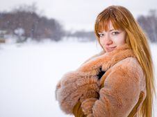 Free Winter Girl Stock Photography - 8073942