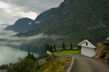 Free Norwegian Fjord Stock Image - 8074061
