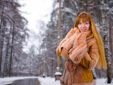 Free Winter Girl Stock Photos - 8074063