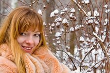 Free Winter Girl Stock Photos - 8074153
