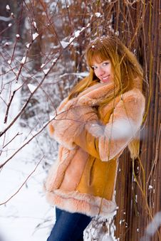 Free Winter Girl Stock Images - 8074284