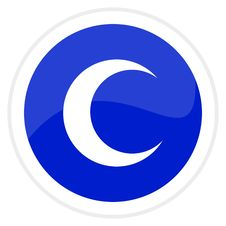 Free Web Button - Moon Stock Photo - 8074420