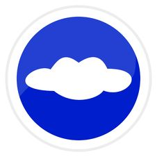 Free Web Button - Cloud Stock Photography - 8074422
