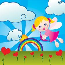 Free Beauty Cupid Stock Photos - 8074493