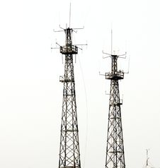 Free Radio Antennas Stock Images - 8074504