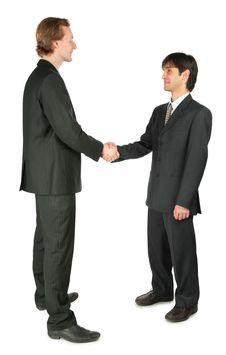 Free Two Businessmen Handshaking Stock Photo - 8074800