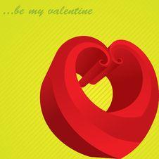 Free Funny Heart Royalty Free Stock Image - 8074816