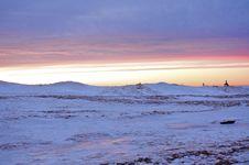Winter Lighthouse Stock Photos