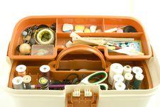 Free Sewing Box Royalty Free Stock Photos - 8075458