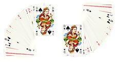 Free The Queen Of Spades Royalty Free Stock Photos - 8075478