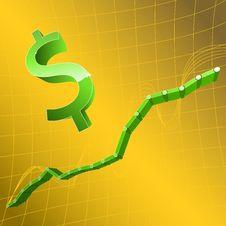 Free Dollar And Graph Stock Photos - 8075583