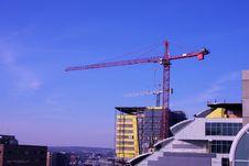 Free Sky Crane Stock Images - 8075594