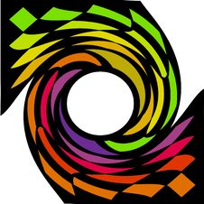 Free Coloured Swirl Or Whirl Stock Photo - 8075910