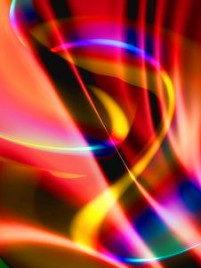 Free Shiny Colorful Abstract Background Royalty Free Stock Photos - 8076458