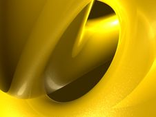 Gold Liquid 3d Background Image Royalty Free Stock Photography