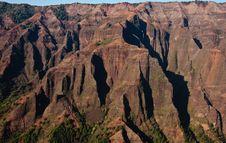 Free Waimea Canyon On Kauai In The Sunlight Royalty Free Stock Photo - 8076825